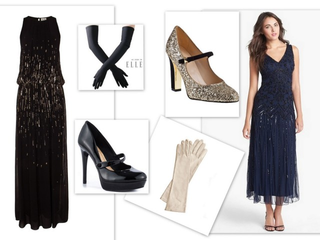 Downton Abbey Evening Dress