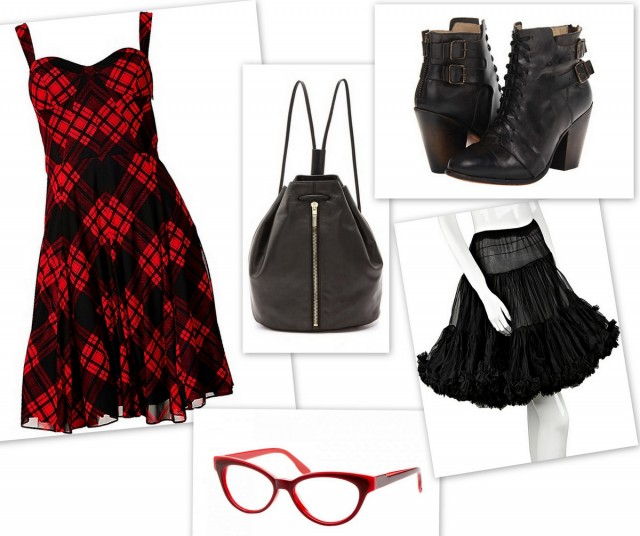 Punk Inspired Fashion Outifit