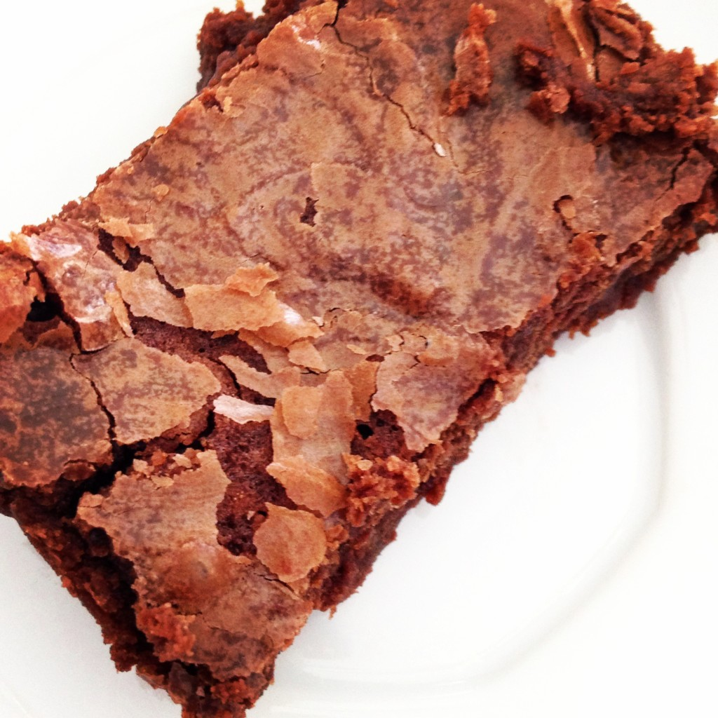 These fudge brownies are delicious and are perfect for the weekend munchies!
