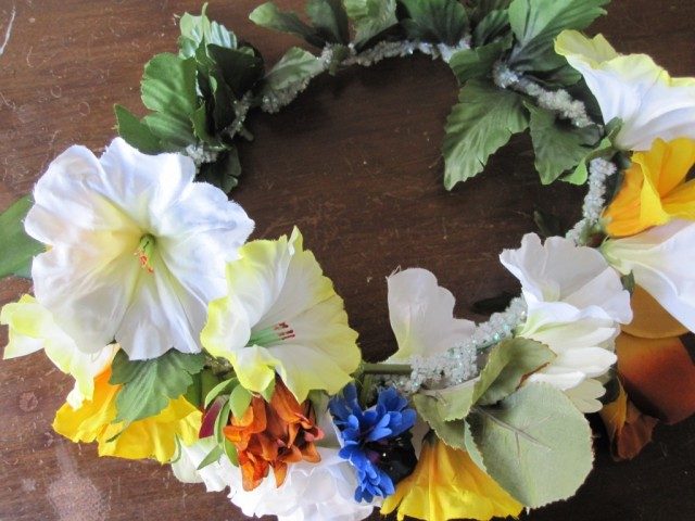 diy easy flower crown floral headband happy pretty sweet festival wear