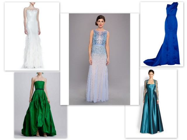 inspired by frozen, elsa gown, anna gown, green gown, blue gown, frozen ball gown