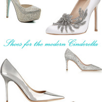 Five pairs of sparkly, shiny pumps that are the modern Cinderella's glass slipper.