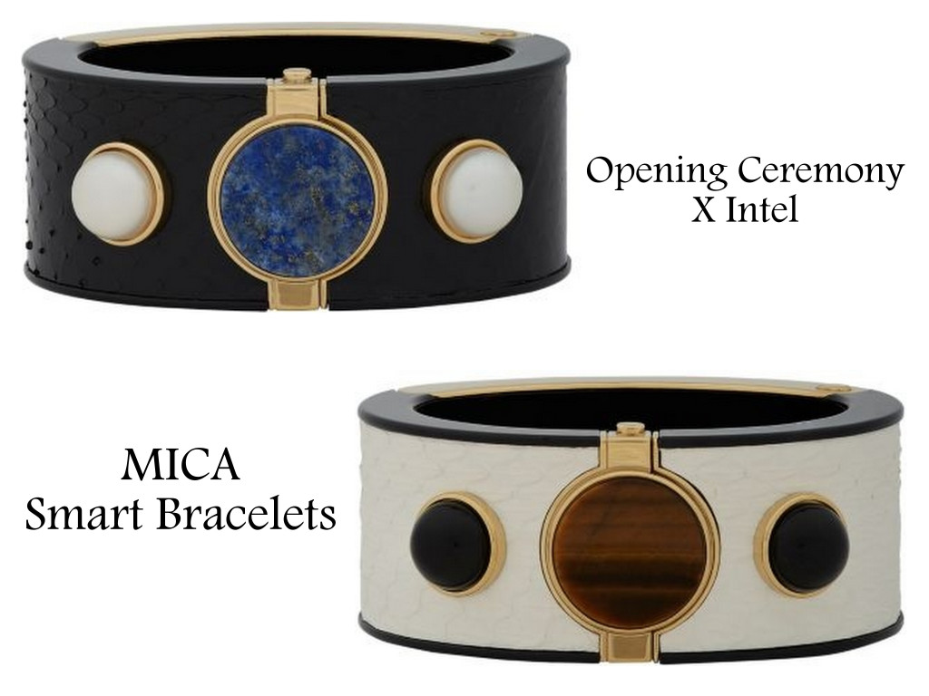 Take your cellphone addiction to the next level with wearable tech like these MICA Smart Bracelets.