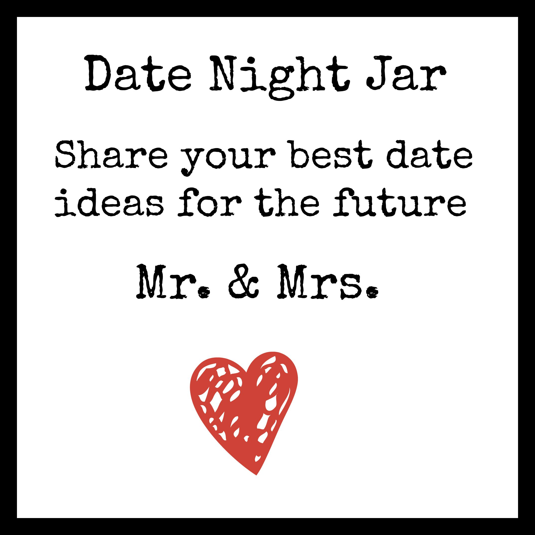 diy date night jar happy pretty sweet