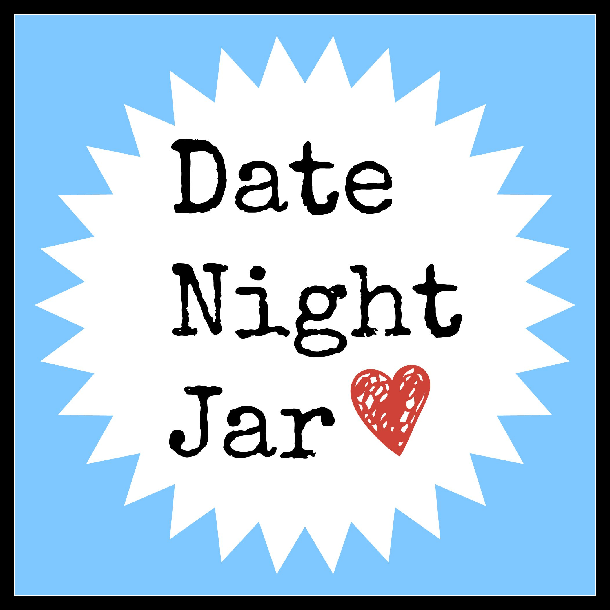 DIY Date Night Jar - Happy. Pretty. Sweet.