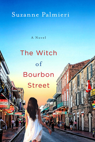 Enjoy the summer with Suzanne Palmieri's Southern set novel, The Witch of Bourbon Street - part of the BookSparks Summer Reading Challenge.
