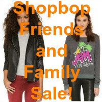 Start your holiday shopping early with the Shopbop Friends and Family Sale!