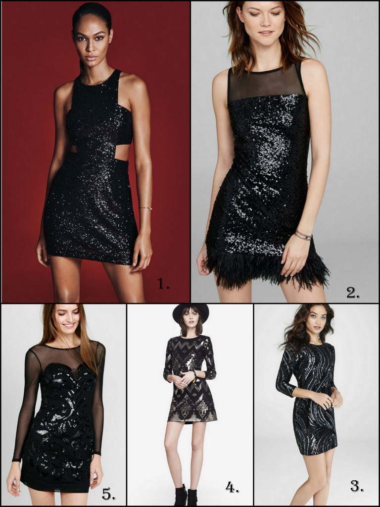 Express yourself at your next holiday party with a fun and sassy LBD.