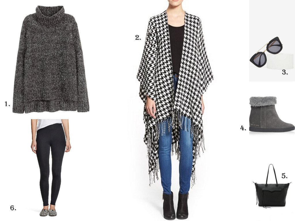 Wondering what to wear for holiday travel? Here are two looks that are perfect for travel by car or by plane.