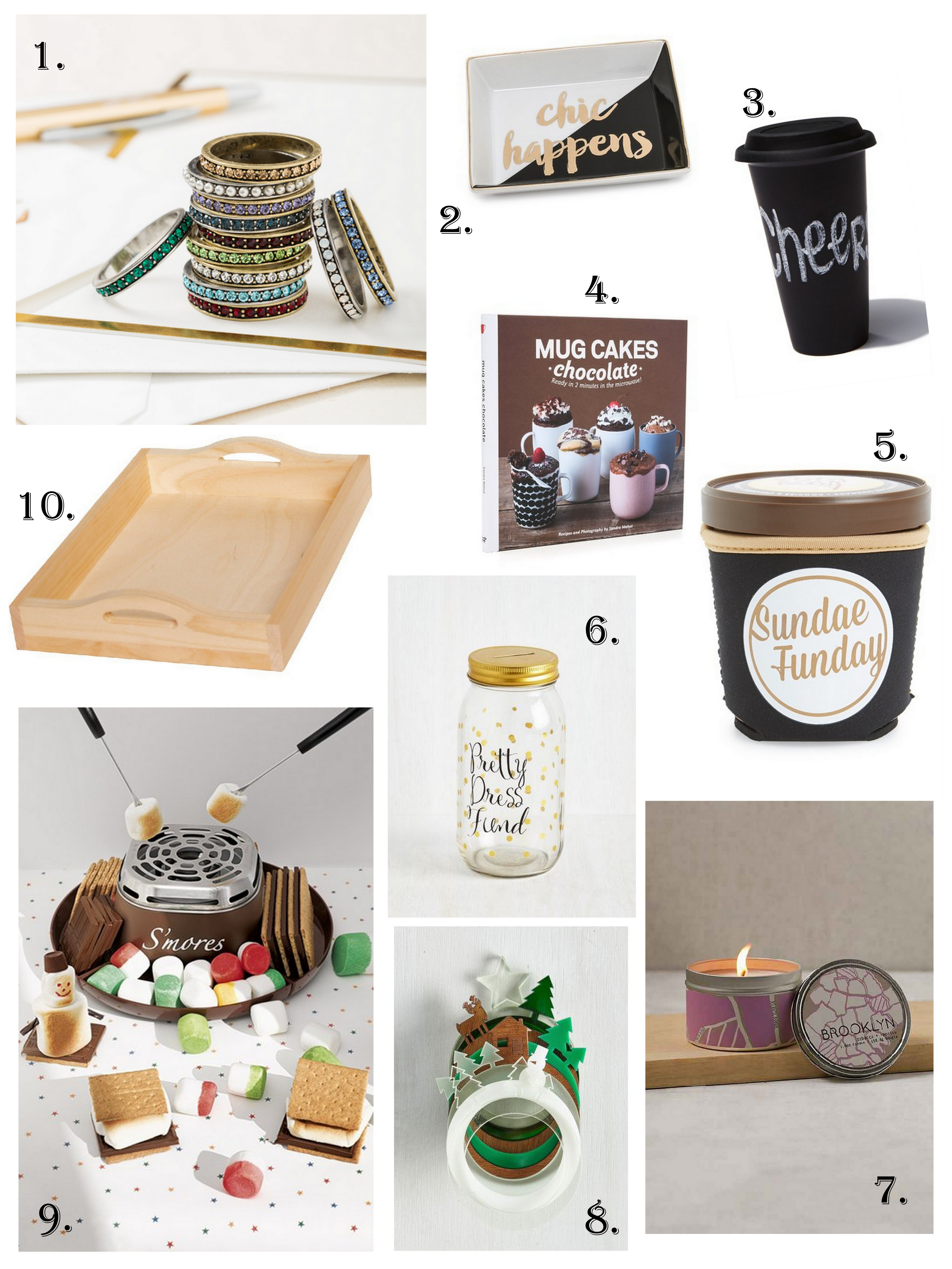 hostess gifts under 30 happy pretty sweet