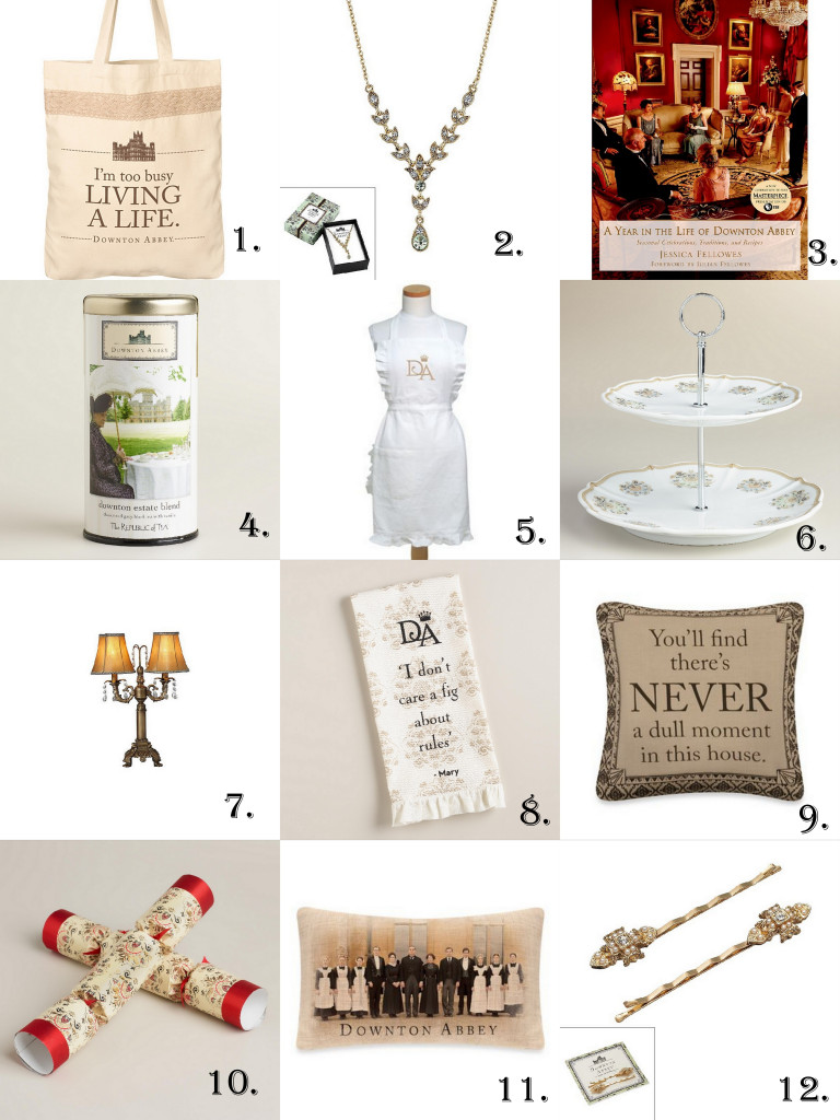 Downton Abbey Gifts Happy Pretty Sweet