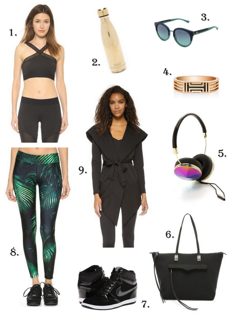 Stay stylish with athleisure wear that turns going to the gym into a fashionable event.
