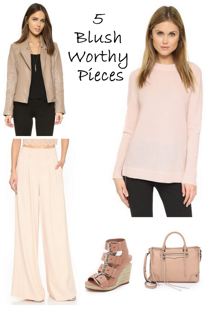 Pink isn't just a color for little girls. Here are 5 blush worthy pieces that are perfect for a grownup fashionista.