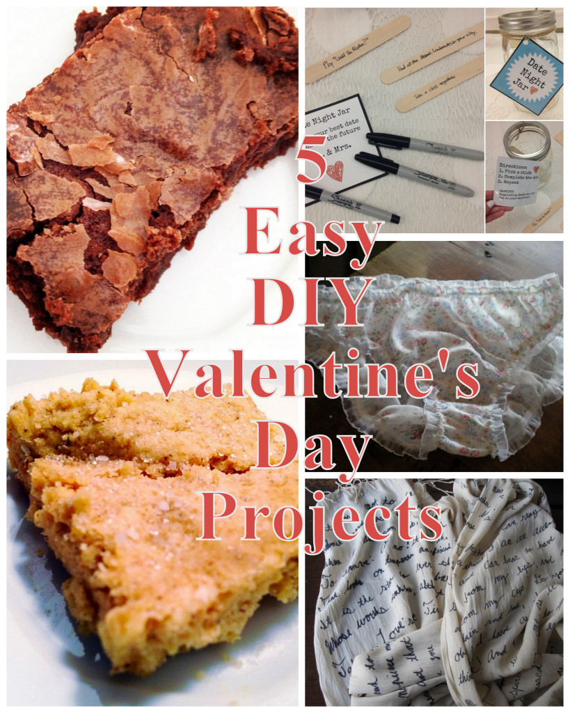 I've rounded up some of my favorite DIY projects from the archives just in time for you to whip up some last minute gifts like fudge brownies and naughty granny panties.