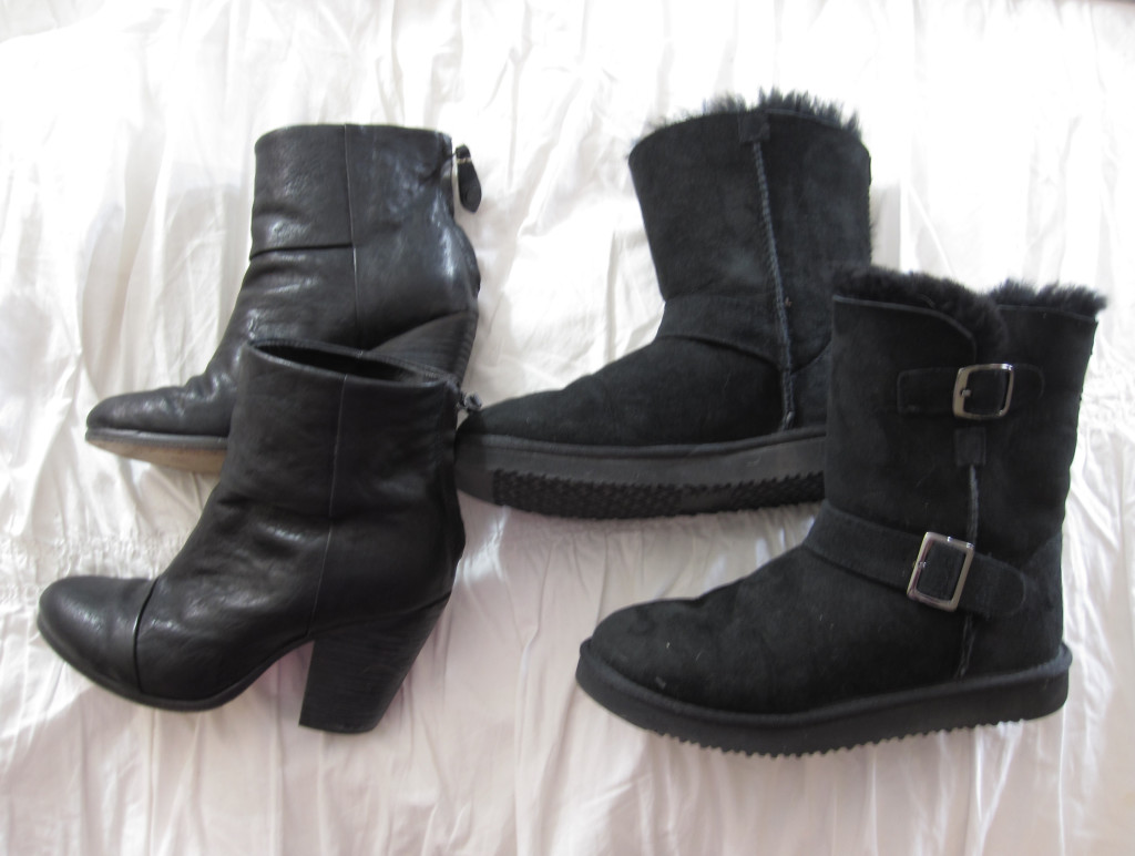 From cat eye glasses to black boots, here is a look at things I wear all the time.