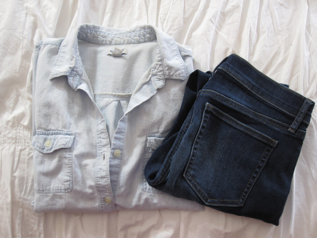 From denim to black boots, here are things I wear all the time.