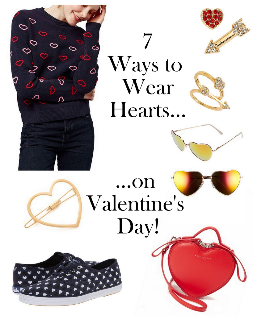 Don't know what to wear for Valentine's Day? Here are 7 unexpected ways to wear hearts!