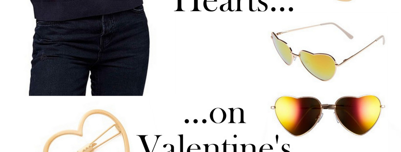 What are you wearing Valentine's Day? If you need ideas, here are 7 ways to wear hearts!