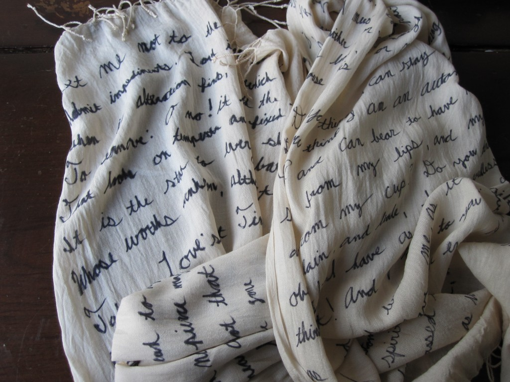 I've rounded up some of my favorite DIY projects from the archives just in time for you to whip up some last minute gifts like this DIY quote scarf.