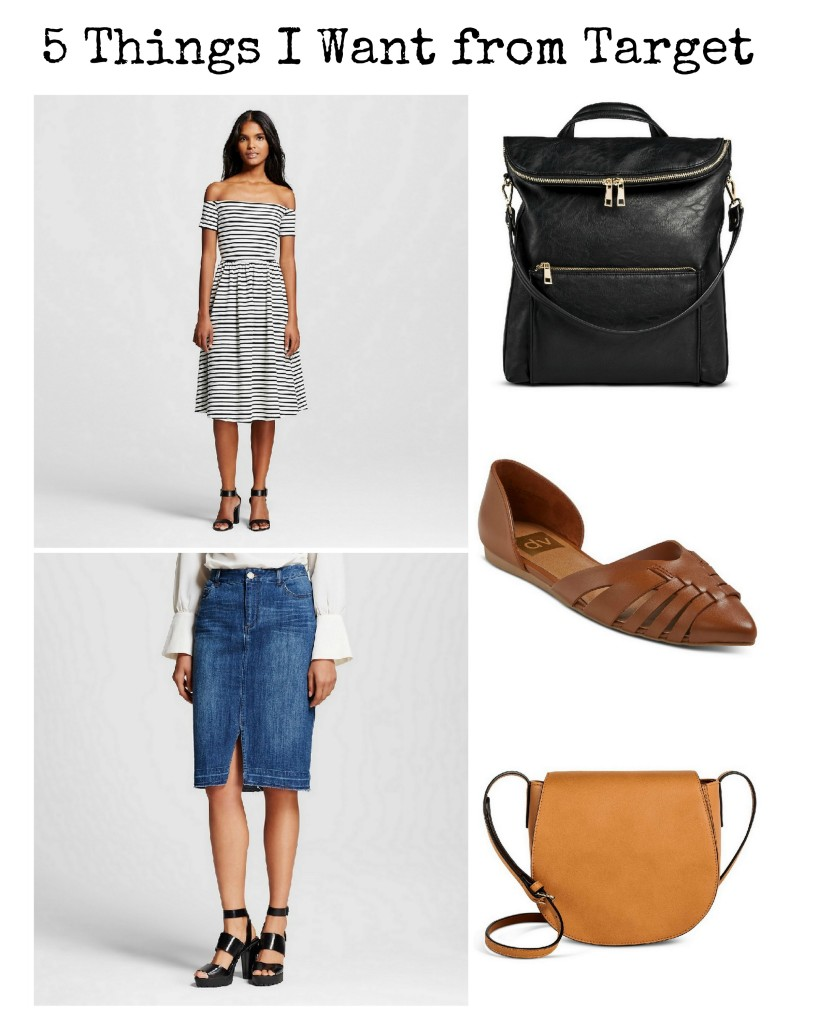 Loving the Who What Wear and dv collections at the bullseye. Here are 5 things I want from Target!