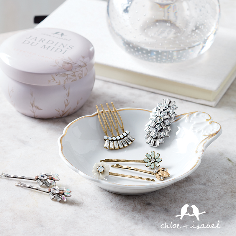 Find beautiful hair accessories at my Chloe + Isabel boutique!