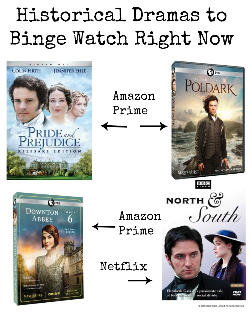 eed a new show to binge-watch? I've rounded up 11 fantastic historical dramas now streaming on Netflix, Amazon Prime and Hulu.