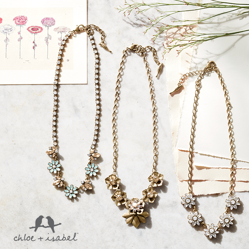 Find beautiful necklaces at my Chloe + Isabel boutique!