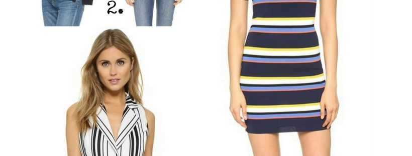 It's easy to wear stripes for spring with these cute striped pieces from Shopbop!