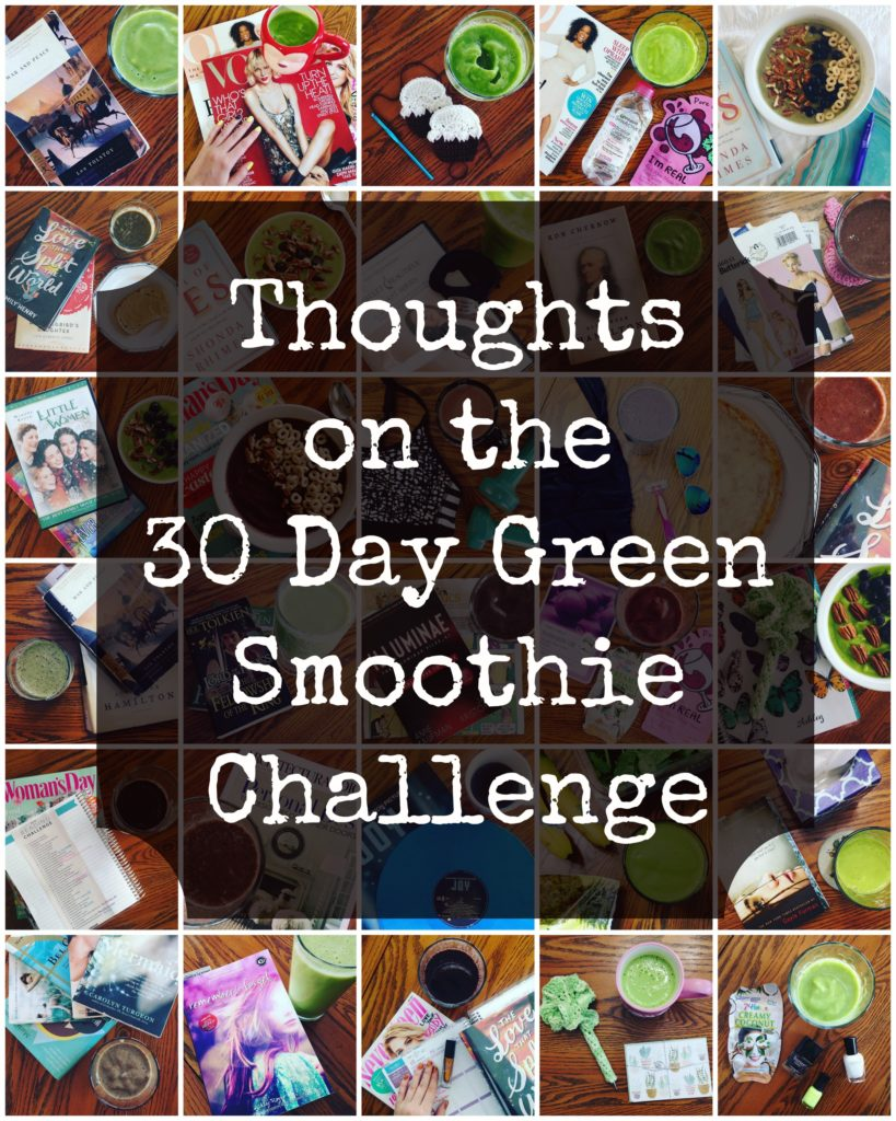 Sharing my thoughts on the 30-day green smoothie challenge from Simple Green Smoothies and revealing my favorite green smoothie recipe.