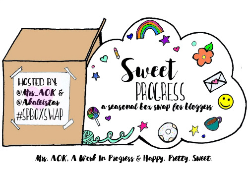 Indulge in your love of summer and snail mail with the Sweet Progress Summer Box Swap! #SPBoxSwap