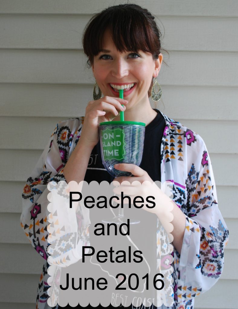 peaches and petals June 2016 box - Under the Boardwalk