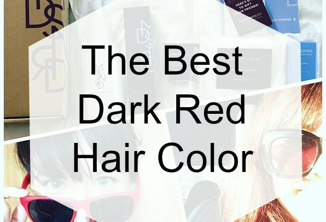 Dark red hair color is my favorite, so when it's time to dye my hair, that's why I love using Madison Reed's at-home hair color in Sardinia Red.