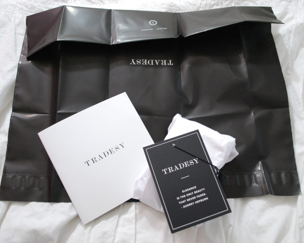 Clean out your closet with Tradesy, an app that makes selling clothes from your virtual closet super easy. Plus, they even send you a free shipping kit.