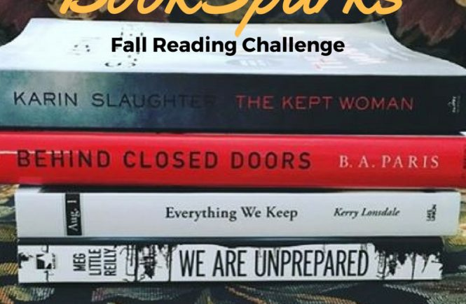 Join me for the BookSparks Fall Reading Challenge! My pick for September is The Kept Woman, a new thriller by Karin Slaughter.