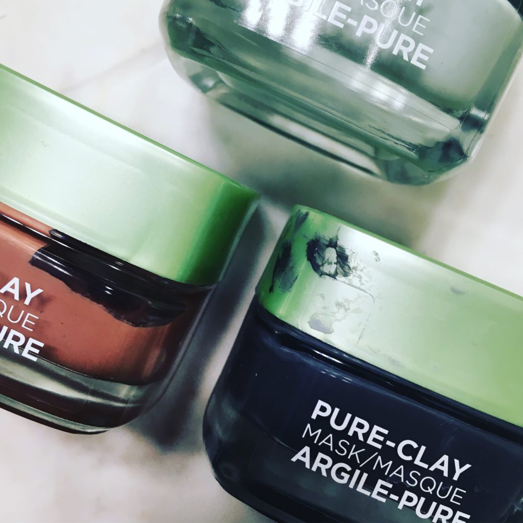 Treat all your skin's needs at one time with multimasking. I put three of L'Oreal Paris' Pure-Clay Masks to the multimasking test.
