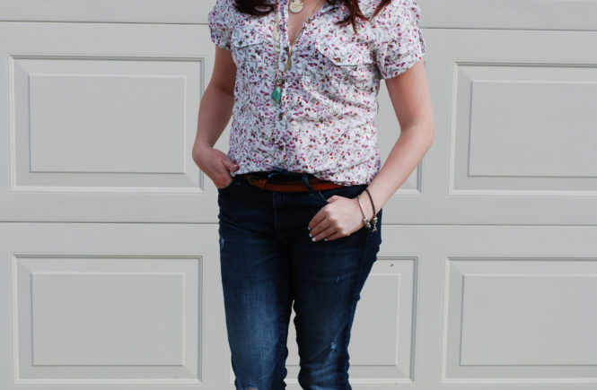 It is possible to look put together when wearing distressed jeans. Here are four tips for looking effortlessly cool when wearing distressed denim.