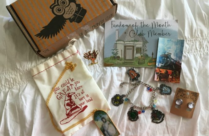 Geeky jewelry lovers won't want to miss Fandom of the Month Club, a monthly jewelry subscription box. See what's inside my Hogwarts box!