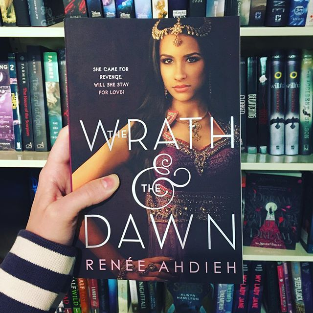 Renee Ahdieh spins a new tale based on The Arabian Nights. Her YA fantasy The Wrath and the Dawn will sweep you away and have you begging for the next book.