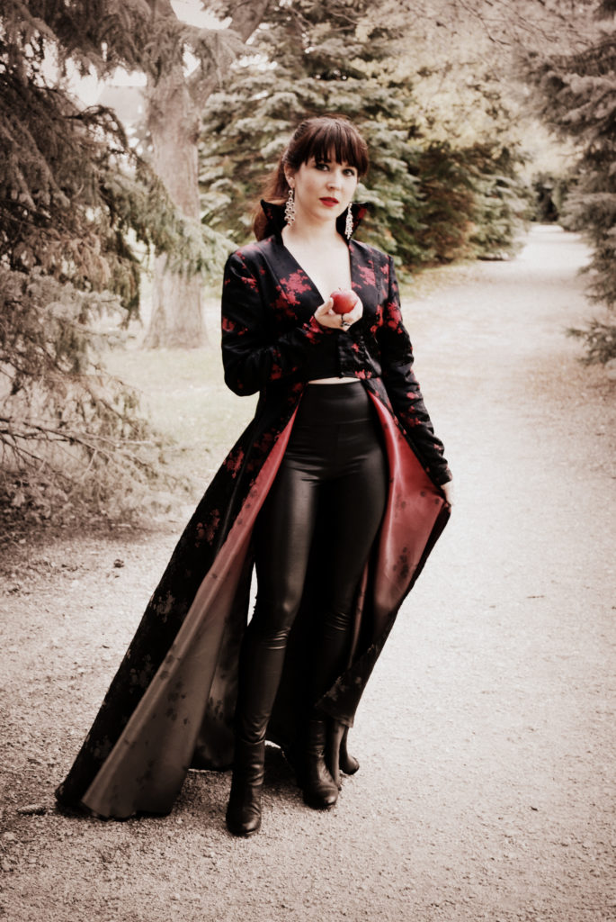 Need a costume idea for Halloween? Check your closet! You may have just what you need to channel Once Upon A Time's Evil Queen.