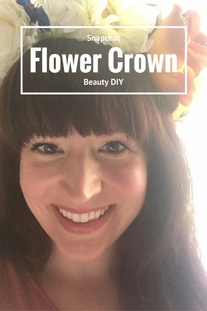 Whether you are dressing up for Halloween or a festival, this Snapchat flower crown filter inspired beauty look is sure to grab everyone's attention.