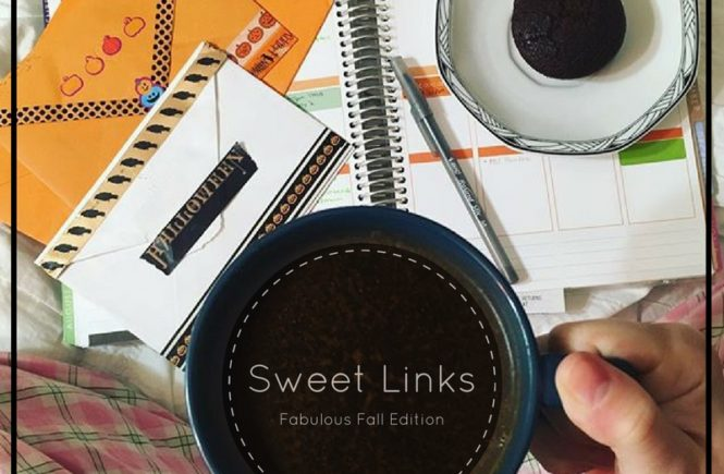 Snuggle in this fall weekend and peruse these fabulously sweet links. Your weekend will thank you.