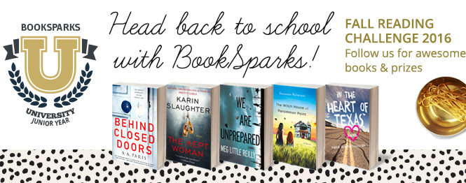Join me for the BookSparks Fall Reading Challenge! From historical fiction to action packed thrillers, this university themed reading challenge is not to be missed.