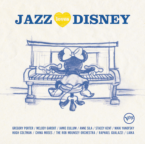 Jazz Loves Disney is your favorite Disney songs all grown up. Recorded by a dream cast, this new album is the soundtrack for a whole new set of memories.