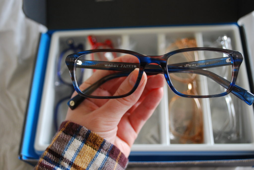 Warby Parker Home Try-On Chilton frames