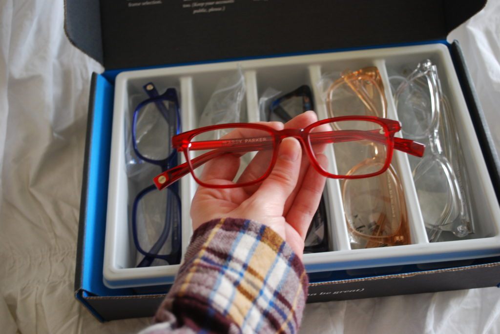 Warby Parker Home Try-On Oliver frames