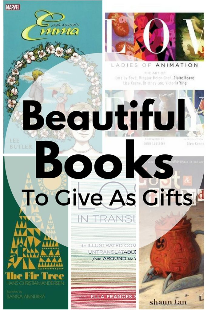 When you don't know what to give, give a book. Here are five beautiful books to give as gifts this holiday season. Careful. You may want them for yourself.