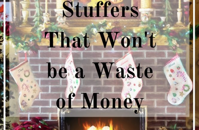 Gift your loved ones stockings full of things they will actually use. Here are 30 stocking stuffer ideas that won't be a waste of money!