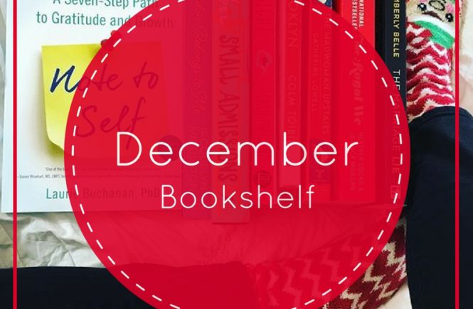 Winter is the time for snuggling up with a good book, and my December bookshelf is overflowing with good reads. Here are a few titles I'm reading...