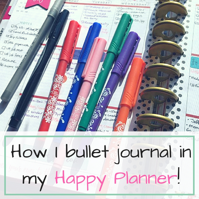 As a paper planner lover, I've learned how to use the bullet journal system in my Happy Planner!