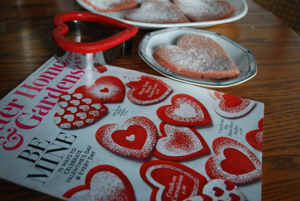These Red Velvet Heart cookies from the February issue of Better Homes & Gardens are the perfect Valentine's Day treat!